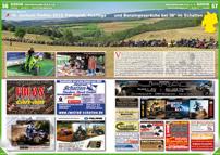 ATV&QUAD Magazin 2012/09-10, Seite 56-57, Szene Deutschland, PLZ 4/5, 16. Jochum-Treffen 2012: Fahrspaß, Ausflüge und Benzingespräche bei 38° im Schatten