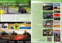 ATV&QUAD Magazin 2012/09-10, Seite 66-67, Szene Deutschland, PLZ 8/9, Quadkameraden Oberpfalz: ATV-Einsatz bei der Roth Challenge 2012