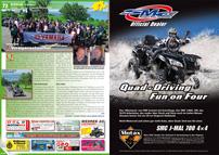 ATV&QUAD Magazin 2012/09-10, Seite 72-73, Szene Schweiz, Hostettler: Voralpenschnüffler