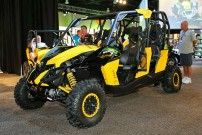 Can-Am Händler-Meeting 'Club BRP 2013' in Washington / Harbor: Can-Am Maverick als Viersitzer