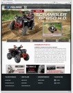 Polaris: hat Informationen über seine brandneue Scrambler XP 850 H.O. auf eigener Webseite zusammengefasst
