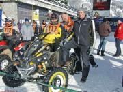 Int. Quad & ATV Schnee SpeedWay Cup 2013, 1. Lauf in Königsleiten