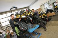 Mechaniker gesucht: Das Team von Baumgartner Quad & ATV sucht eine/n Mitarbeiter/in für die Montage-Werkstatt in Lenggries