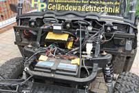 Rüdiger Marquardt, Einsatz Polaris Ranger EV 'Pirschmobil': Steuerung und Zusatz-Batterie für die Seilwinde