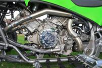 Rabenbauer Kawasaki KFX 840: Triebwerk mit Big-Bore-Kit und Einspritz-Anlage