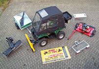Kini Tec: Arbeitsgerät für ATVs wie Yamaha Grizzly 700