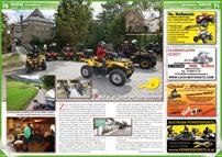 ATV&QUAD Magazin 2013/01-02, Seite 70-71, Szene Österreich; Allrad Horn: Auf der Spur der Verwüstung