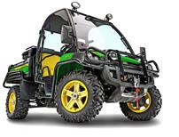 John Deere Gator UXV 855 D 4x4: jetzt mit neuer Servolenkung erhältlich