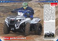 ATV&QUAD Magazin 2013/03-04, Seite 34-39, Test Online X 6.5: Neu gebrandet