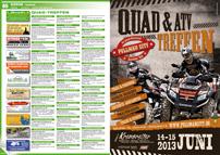 ATV&QUAD Magazin 2013/03-04, Seite 80-81, Szene Termine: Quadtreffen