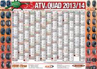 ATV&QUAD Magazin 2013/03-04, Kalenderposter im Mittelaufschlag