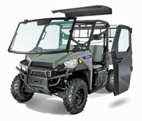 Polaris Brutus, Accessories: Fahrerkabine