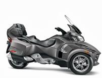 Can-Am Spyder RT: 2012er Modelle mit Extra-Zubehörpaket im Wert von 1.500 Euro