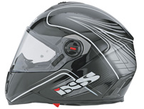 iXS Motorcycle Fashion: Fiberglas-Integralhelm HX 397
