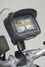 SW Mo-Tech: Universal GPS Halterung zur Befestigung am Spiegel-Gewinde