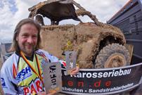 Arndt Geyer vom Team Parthen PowerSports: eiserner Wille beim GORM 24-h Rennen 2013 in Jänschwalde