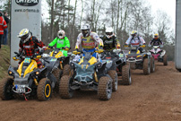GCC German Cross Country 2013, 1. Lauf in Triptis: Start Klasse 'ATV'; Bild: Baboons