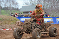 GCC German Cross Country 2013, 1. Lauf in Triptis, Max Freund: alles nach Plan; Bild: Baboons