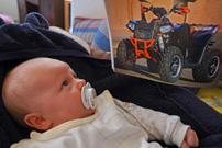 Henke-Töchterchen: Warten auf die Quad-Saison 2013