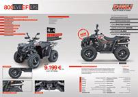 Dinli ATVs und Quads 2013: neuer Prospekt: Fahrzeug-Detailansicht im neuen Prospekt