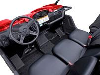 Yamaha Viking: Ergonomie für den Piloten, Platz für 2 Mitfahrer