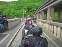 Raptor Community: gemeinsame Ausfahrt mit dem Porsche Club Schwalm-Eder über die Edersee-Sperrmauer