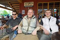 Quadtreffen 2013 in Pullman City in Eging am See: eine Schlammgrube war vorhanden...