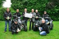 Oste-Hamme Treffen 2013: Mehr als 400 Euro dem Hospiz zwischen Elbe und Weser in Bremervörde gespendet