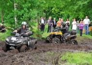 Oste-Hamme Treffen 2013: Spielwiese mit regennassem Moorboden