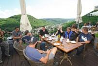 Jochum Treffen 2013, Ausfahrt: Rast an der Kyrburg in Kirn