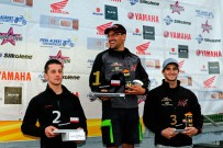 Austrian SuperMoto Quad Masters 2013, Finale in Melk: Oliver Babun, Martin Tauber und Michael Haidl (vlnr.)