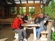 Allrad Horn Herbst Ausfahrt 2013: Alpen-Jause mit Hüttenzauber