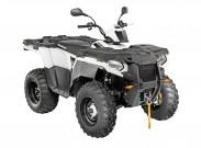 Polaris Sportsman 570, neues Einstiegs ATV zum Kampfpreis: Forest-EPS-Model in weiß