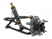 Sportquad A-Arme mit Zulassung von 3ppp: für Yamahas Rappen in schwarz
