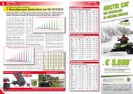 ATV&QUAD Magazin 2013/11-12, Seite 8-9: Neuzulassungszahlen Deutschland Januar bis Oktober 2012 / 2013