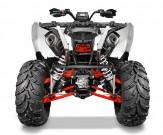 Polaris Scrambler XP 1000: aktuell das Sport-ATV mit der höchsten Leistung und Bodenfreiheit, mit der schnellsten Beschleunigung und den längsten Federwege