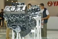 EICMA 2013, Yamaha Dreizylinder-Triebwerk P3