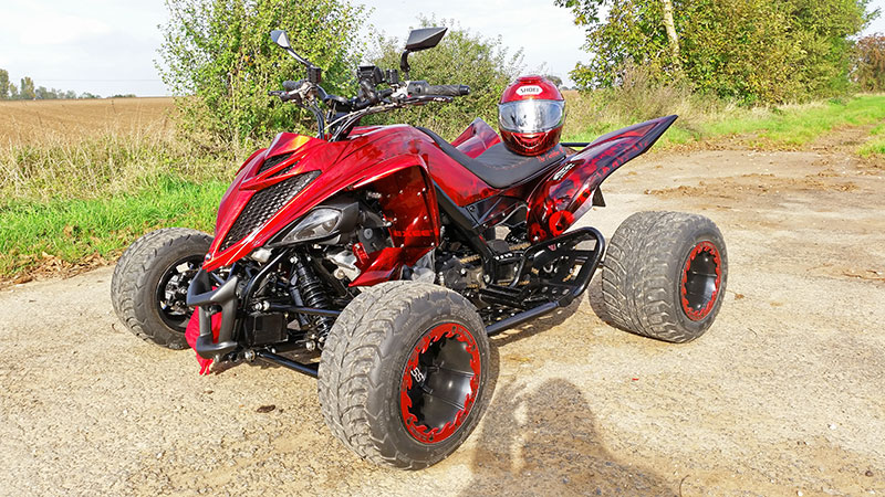 exeet v990r yamaha pimp mit ktm v2 motor atv quad magazin. Black Bedroom Furniture Sets. Home Design Ideas