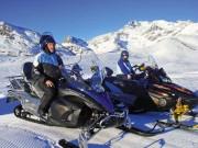 HB-Adventure: Snowmobil-Touren auf mehr als 30 nagelneuen, einfach zu bedienenden 4-Takt Motorschlitten von Yamaha
