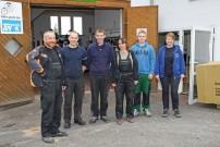 Axel´s Boxenstop: Das Team in Körle freut sich auf gemeinsame Aktivitäten mit Freunden und Kunden