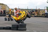 Ob beim Vollgas im Staub oder bei der Stunt-Show des Twood-Teams: Beim Can-Am Adventure 2014 wird Spaß groß geschrieben