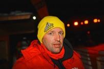 Joe Lechner: 'Erfinder' und Veranstalter des SnowSpeedHill Race 2014; Bild: Dirk Hartung