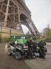 Gerhard Horn (links): hat im Rahmen einer Charity-Tour nach Paris bereits gute Erfahrungen mit dem Komfort und der Langstreckentauglichkeit von Can-Am ATVs gemacht