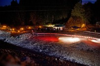 Offroad Abenteuer Hottingen 2013: pittoresker fackelbeleuchteter Parcours