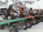 Neue Termine für 2014: Wegen warmer Temperaturen müssen die PilotInnen im Int. Quad & ATV Schnee SpeedWay Cup mit den Starts noch bis Februar warten
