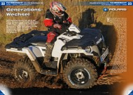 ATV&QUAD Magazin 2014/01-02, Seite 22-27; Fahrbericht Polaris Sportsman 570: Generations-Wechsel