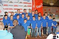 BQC: Meisterfeier mit vielen großen Pokalen und Trophäen
