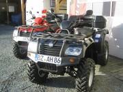 Quadvermietung bei Siebenbürger: Zur Verfügung stehen zwei Explorer ATVs vom Typ 500 One mit langem Radstand