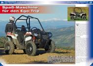 ATV&QUAD Magazin 2014/03-04, Seite 26-27; Fahrbericht Polaris ACE 4x4: Spaß-Maschine für den Ego-Trip
