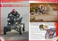 ATV&QUAD Magazin 2014/03-04, Seite 86-87, Rennsport; Dakar 2014: Schon fast zu hart